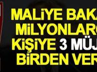Maliye Bakanı Naci Ağbal 3 müjde birden
