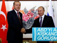 Erdoğan-Putin görüşmesi 2 saat sürdü