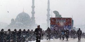 İstanbullular dikkat! Kar geliyor
