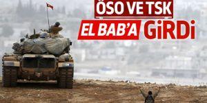 Türk Askeri ve ÖSO askerleri El Bab'a girdi