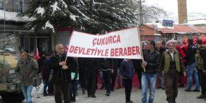 Çukurca'da 'teröre lanet' yürüyüşü
