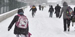Ankara'da Okullara Kar Tatili 29 Aralık 2016