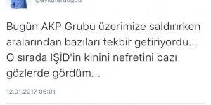 CHP'li Erdoğdu 'Tekbir' sesini DAEŞ'le bağdaştırdı