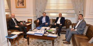 Ali Yalçın - Bakan Soylu Ziyaretinde Gündem FETÖ İle Mücadele