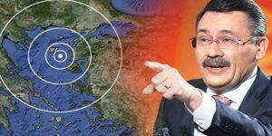 Melih Gökçek'ten Çanakkale'deki depremlerle ilgili şoke eden iddia