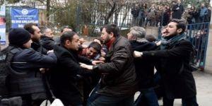 CHP'li vekiller polisle çatıştı