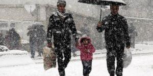 Bu illerde yaşayanlar dikkat!Kar geliyor! 22 Aralık 2017 Cuma yurtta hava durumu