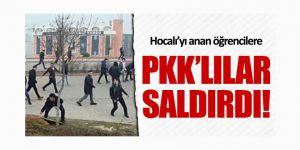 Hocalı'yı Anan Öğrencilere PKK'lılar Saldırdı