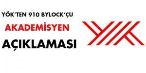 YÖK'ten 910 Bylock'çu akademisyen açıklaması