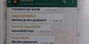 15 Temmuz gecesi Ak Partili vekillerin WhatsApp yazışmaları