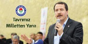 Ali Yalçın: Tavrımız Milletten Yana