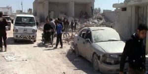 İdlib'te hava saldırısı! Bu defa Rusya vurdu