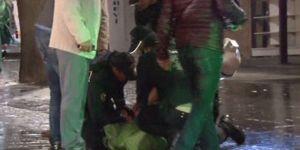 Başkentte KHK protestosuna polis müdahalesi: 2 gözaltı