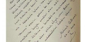Diyanet İşleri Başkanının FETÖ liderine gönderdiği mektup