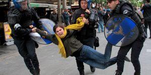 Ankara'da 'KHK' arbedesi: 10 gözaltı
