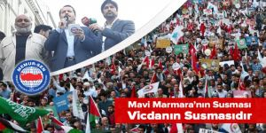 """Ali Yalçın, İHH'nın düzenlediği """"Özgür Kudüs"""" yürüyüşüne katıldı"""