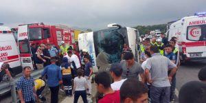 Samsun'da Feci Kaza - Çok Sayıda Asker Yaralı!