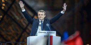 Fransa'da zafer Macron'un