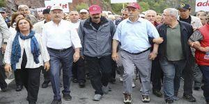 Kılıçdaroğlu'ndan olay yürüyüş açıklaması: Orada bitmeyecek, Devamı da olacak