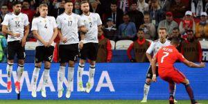 Almanya ile Şili puanları paylaştı