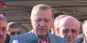 Cumhurbaşkanı Erdoğan'dan Bayram Namazı Çıkışı Açıklamalar