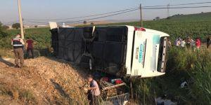 Balıkesir'de otobüs kazası: 1 ölü 40 dan fazla yaralı