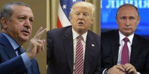 Cumhurbaşkanı Erdoğan'dan Trump ve Putin'le Krtik Görüşme