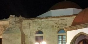 Deprem Tarihi camiye hasar verdi!