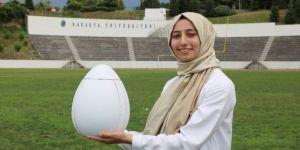 """""""Uçan Yumurta"""" görenleri şaşırttı"""