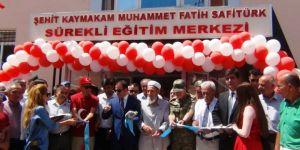 Şehit Kaymakam Safitürk'ün adı verildi