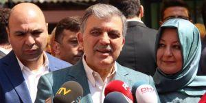 Abdullah Gül kutlama programına katılacak mı ?