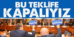 Ali Yalçın: Bu Teklif Yeni Türkiye'ye Yakışmıyor