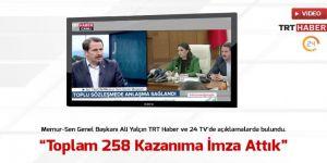Ali Yalçın, Toplam 258 Kazanımı ve Süreci Anlattı