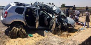 Askerlerin olduğu araç başka araçla çarpıştı: 2 ölü, 7 yaralı