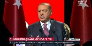 """Cumhurbaşkanı Erdoğan'dan flaş """"MİT değişikliği"""" açıklaması"""