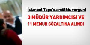 İstanbul'da Müthiş Vurgun: 3'ü Müdür Yardımcısı 11 Memura Gözaltı