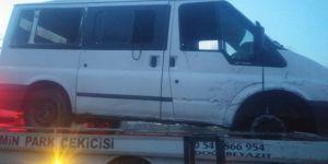 Ağrı'da teröristler minibüse ateş açtı: 3 ölü, 4 yaralı