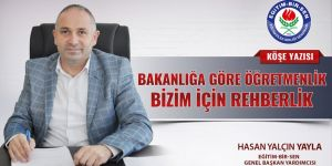 Hasan Yalçın Yayla, MEB'in Rehberlik Öğretmenlik Düzenlemesini Yazdı