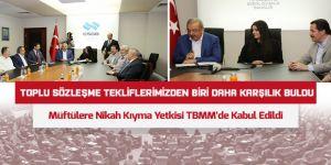 Bayraktutar: Müftüye Nikâh Yetkisi Mağduriyetleri Önleyecektir