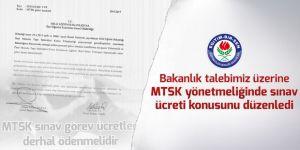 MTSK yönetmeliğindeki sınav ücreti sorunu çözümlendi