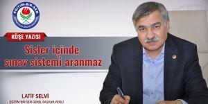 Latif Selvi'den Hükümete Sınav Sistemi Tepkisi