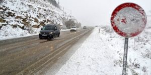 Sürücülere Uyarı: Kış lastiği dört tekere de takılmalı