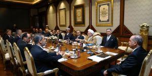 Erdoğan, Irak Türkmenleri Heyetini Kabul Etti