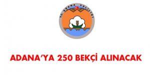 Adana İlçe Kaymakamlıkları Bekçi Alım İlanı