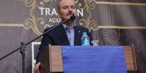 İçişleri Bakanı Soylu: Sıkıştıkları yerler artık sınırlar