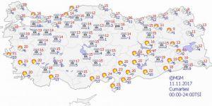 Bugün hava durumu nasıl olacak? Meteoroloji açıkladı