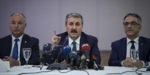 Destici: Yeni cumhurbaşkanlığı sistemiyle istikrar sağlanmış olmaktadır