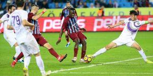 Trabzonspor 3 puana son dakikada uzandı