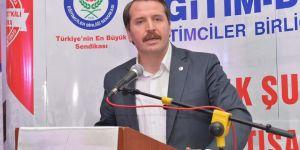 Ali Yalçın'dan Eğitim Çalışanlarının İş Huzuru Vurgusu