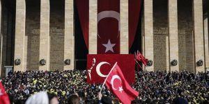 Anıtkabir'i Rekor Ziyaret: 6 milyonu aşkın kişi...